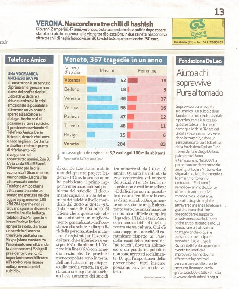 giornale di vicenza 2 08.09